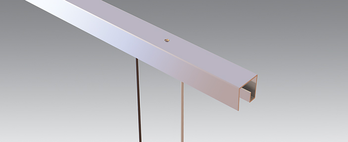 P Rail - Ceiling System