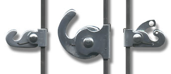 Hooks for Hanging Rod 40kg, 80kg, 40kg Security